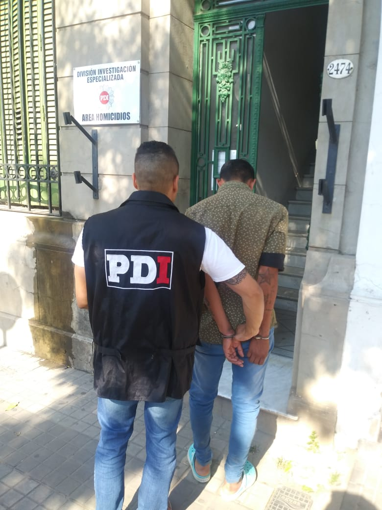 PDI detuvo al presunto autor del homicidio en Bº Las Lomas - Sin Mordaza